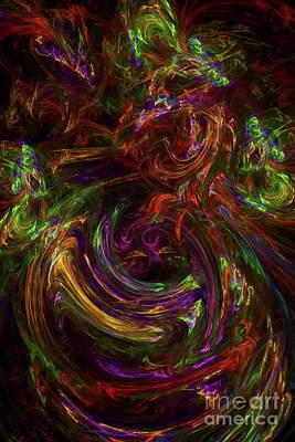 Digital Art - Conception No 3 by Olga Hamilton