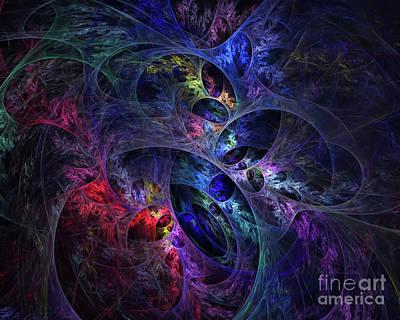 Digital Art - Conception No 5 by Olga Hamilton