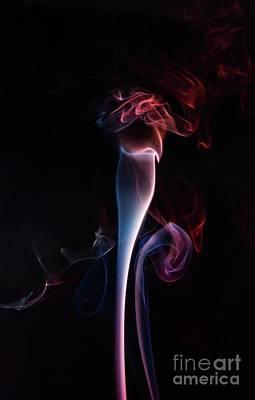 Digital Art - Conceptual Smoke by S Art