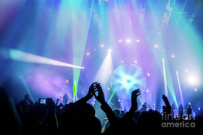 Photograph - Concert Background by Anna Om