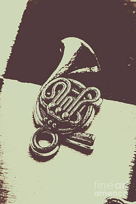 Brass Wall Art - Photograph - Concert Of A French Horn by Jorgo Photography - Wall Art Gallery