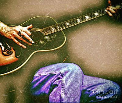 Hands Photograph - Concerto In Country Blues  by Steven Digman