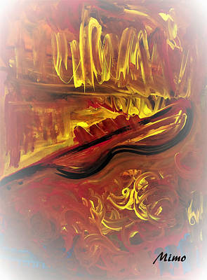 Painting - Concerto by Mimo Krouzian