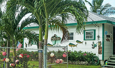 Photograph - Conch Key Fish House Art by Ginger Wakem