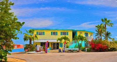 Photograph - Conch Key Grocery Store 2 by Ginger Wakem
