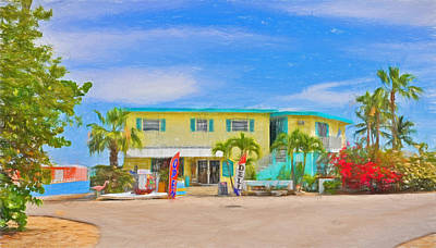 Photograph - Conch Key Grocery Store 3 by Ginger Wakem