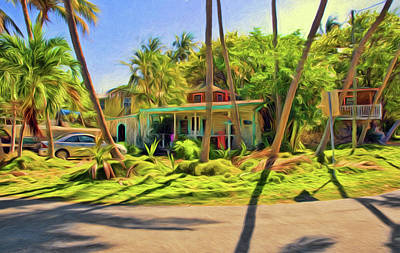 Photograph - Conch Key House by Ginger Wakem