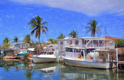 Photograph - Conch Key Island Living 3 by Ginger Wakem
