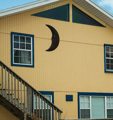 Photograph - Conch Key Moon House by Ginger Wakem