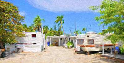 Photograph - Conch Key Trailers by Ginger Wakem