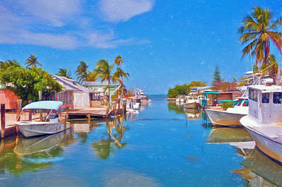 Photograph - Conch Key Waterfront Living 3 by Ginger Wakem