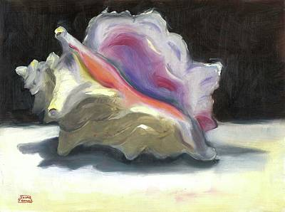 Painting - Conch Shell by Susan Thomas
