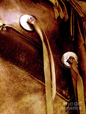 Photograph - Conchos On Chaps by Dale Jackson