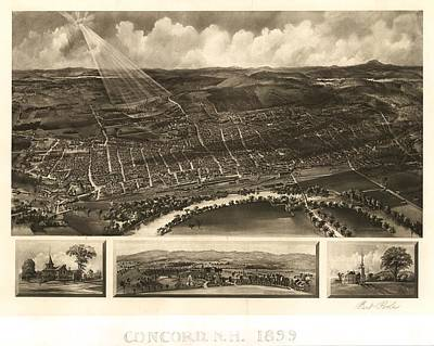 Concord 1899 Print by Mountain Dreams