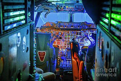 Photograph - Concord Cockpit by Rick Bragan