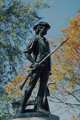 Photograph - Concord Minuteman In Autumn by John Clark