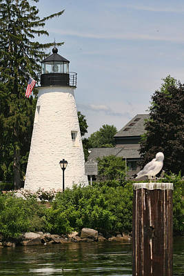 Concord Point Lighthouse Art Print by Christina Durity