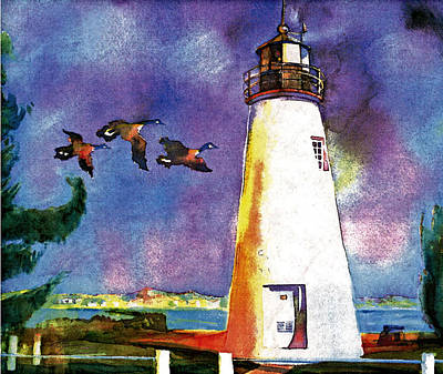 Concord Point Lighthouse Print by Dean Gleisberg