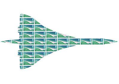 Digital Art - Concorde by Gary Hogben