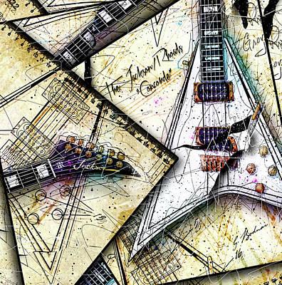 Van Halen Digital Art - Concordia by Gary Bodnar