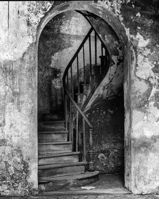 Photograph - Concrete And Stairwell by Crescent City Collective