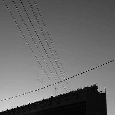 Photograph - Concrete And Wires by Bill Tomsa