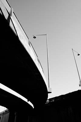 Freeway Digital Art - Concrete Bridge by Tommytechno Sweden