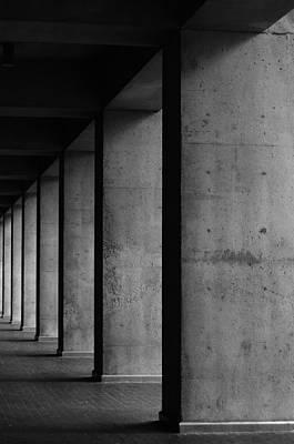 Concrete Art Print by Daniel Lih