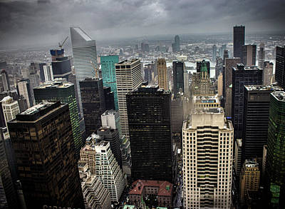 Skylines Royalty-Free and Rights-Managed Images - Concrete Jungle by Martin Newman