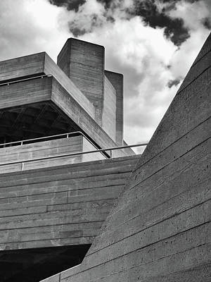 Concrete Landscape - Royal National Theatre Art Print by Philip Openshaw