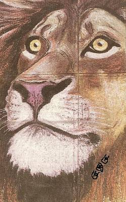 Painting - Concrete Lion by George I Perez