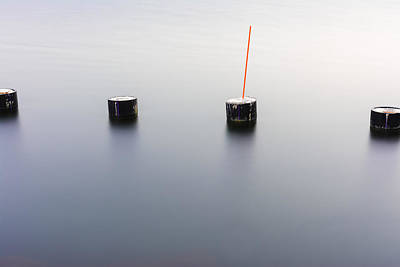 Concrete Piles Art Print by Tommytechno Sweden
