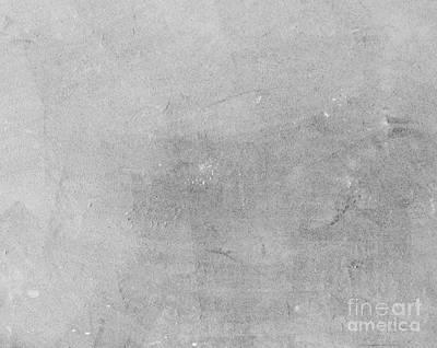 Floor Photograph - Concrete Plaster Floor Backround With Natural Grunge Texture by Michal Bednarek