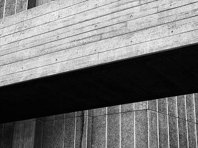 Concrete Span - National Theatre London  Art Print by Philip Openshaw