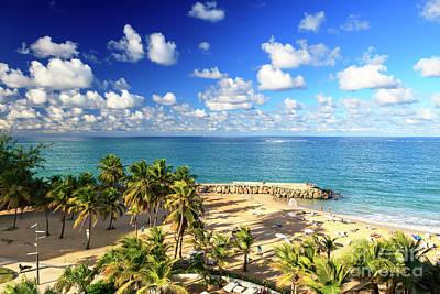 Photograph - Condado San Juan by John Rizzuto