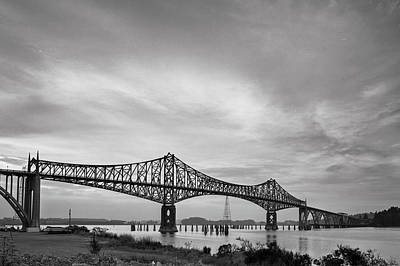 Photograph - Conde Mccullough Memorial Bridge by HW Kateley