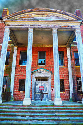 Abandoned Insane Asylum Photograph - Condemned by Bill Cannon