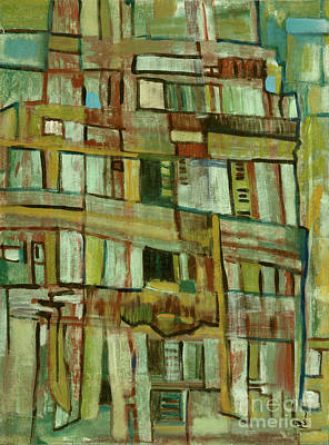 Art Print featuring the painting Condo by Paul McKey