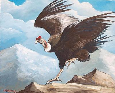 Painting - Condor by Jean Pierre Bergoeing
