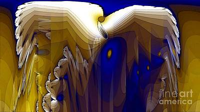 Condor Wall Art - Digital Art - Condor by Ron Bissett