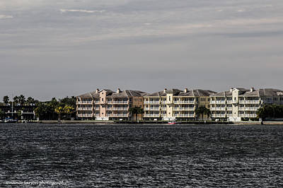 Photograph - Condos Across The River by Nance Larson