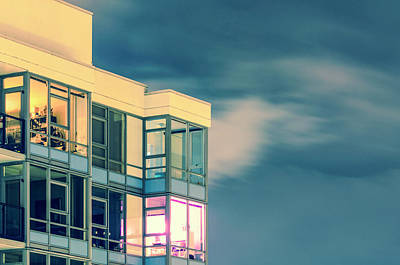 Photograph - Condos And Muted Sky by Amyn Nasser