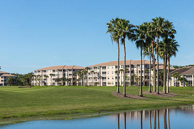 Photograph - Condos On A Golf Course by Josef Pittner