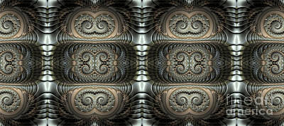 Artistic Digital Art - Conduit by John Edwards