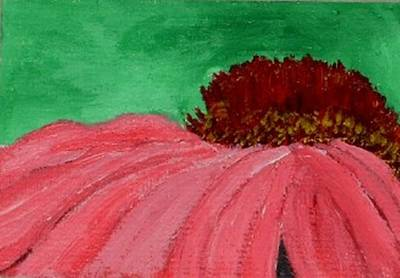 Painting - Cone Flower by Leslye Miller