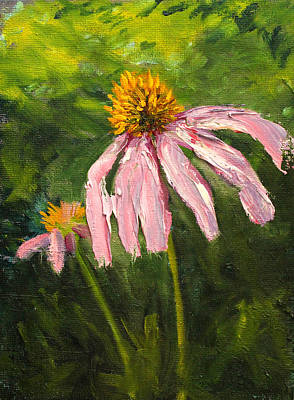 Painting - Cone Flower by Nancy Merkle