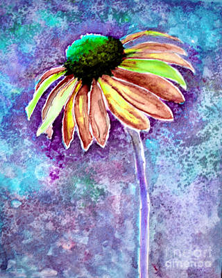 Painting - Painting Cone Flower 8615f by Mas Art Studio