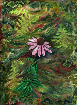 Painting - Coneflower by FT McKinstry
