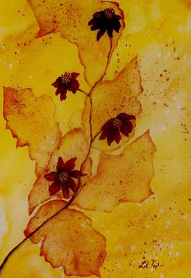 Painting - Coneflower Impression by Lil Taylor