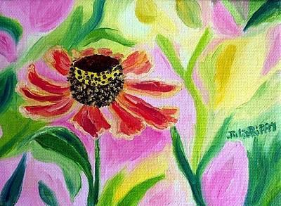 Painting - Coneflower by Julie Brugh Riffey
